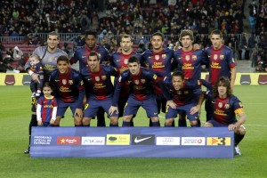 Barcelona Squad 2012-13