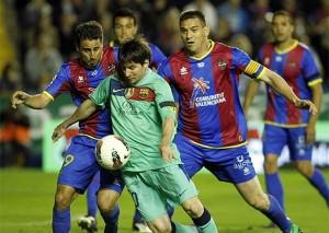 Barcelona v Levante