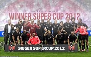 Bayern Munich Squad 12-13