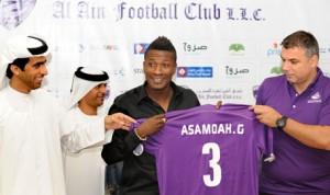 Asamoah at Al Ain