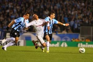 A highlight from Gremio v Fluminense match
