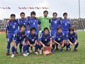 Laos National Football Team