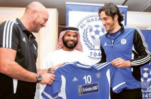 Luca Toni is playing for Al Nasr