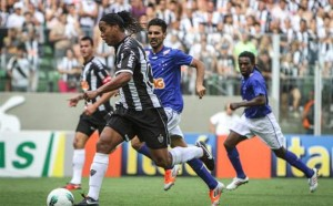 Ronaldinho is playing for Atletico MG
