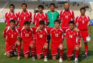 Tajikistan National Football Team Squad